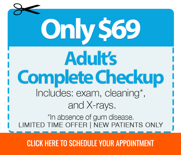 Adults complete checkup offer