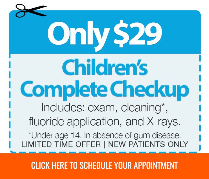 Children's complete checkup offer